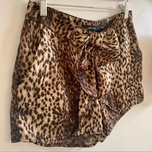 Ark & Co Shorts - TREND ALERT Leopard Print Dress Shorts